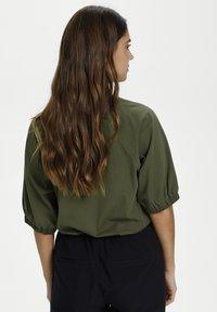 Kaffe - LINDA  - Basic T-shirt - grape leaf - 2