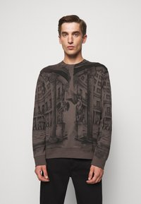 HUGO - DADDED - Sweatshirt - charcoal - 0