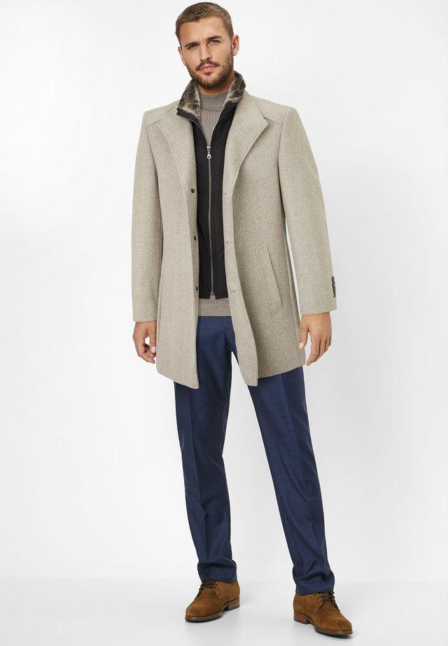 NEWTON - Short coat - stone