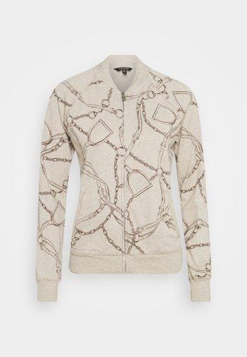 Zip-up hoodie - farro heather