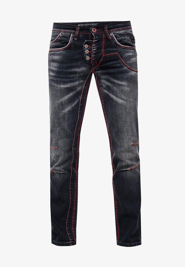 RUBEN - Slim fit jeans - schwarz