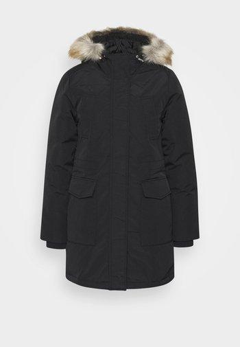 TECHNICAL  - Down coat - black