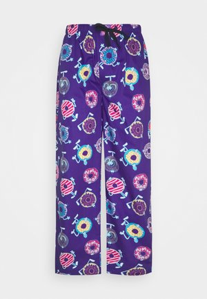 PYJAMA PANT DONUTS - Pyjama bottoms - purple
