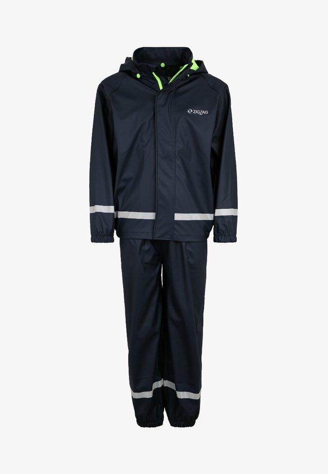 REGEN- UND MATSCHANZUG RIETI - Waterproof jacket - dark blue