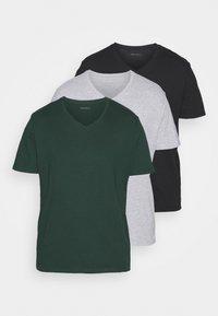 khaki/grey/black