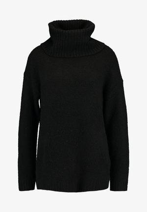 VMKIZZI LONG COWLNECK - Jumper - black