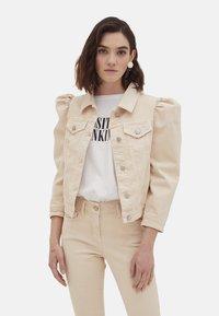 Motivi - Denim jacket - bianco - 0