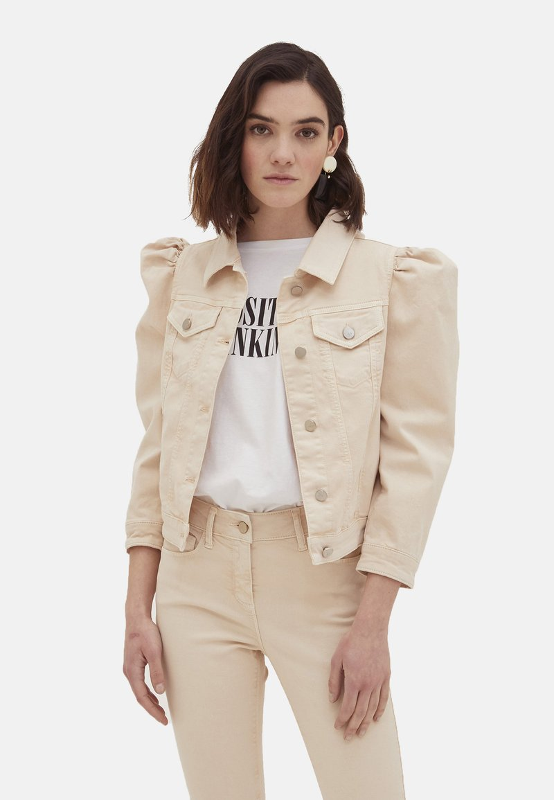 Motivi - Denim jacket - bianco
