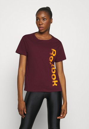 GRAPHIC TEE  - Print T-shirt - maroon
