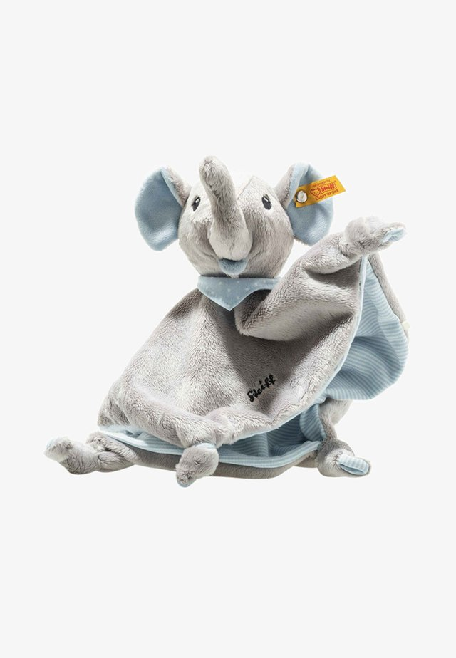 TRAMPILI ELEFANT - Cuddly toy - grey / blue