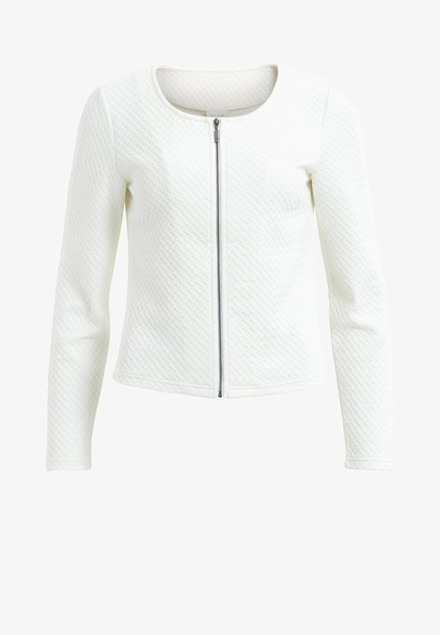VINAJA NEW SHORT JACKET - Chaqueta fina - snow white