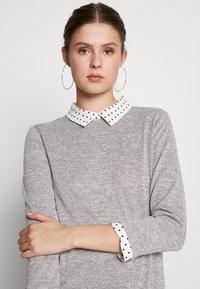 Dorothy Perkins Tall - SPOT HEM 2 - Pullover - light grey - 3
