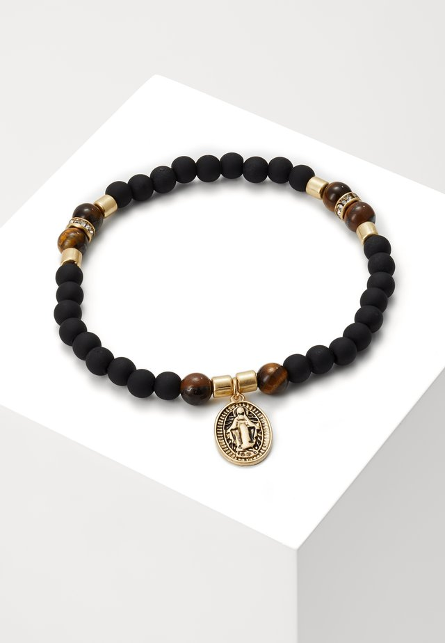 BEADS CRYSTAL  - Bracelet - black