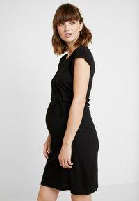 Anna Field MAMA - NURSING DRESS - Jersey dress - black - 4