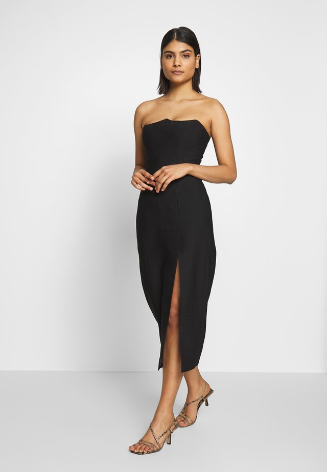 BEYOND CONTROL DRESS - Korte jurk - black