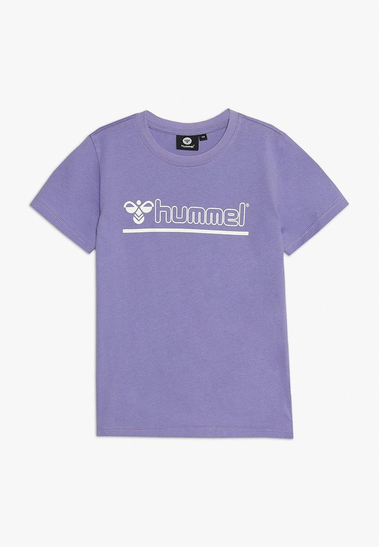 Hummel - REGULAR FIT - T-shirts print - aster purple