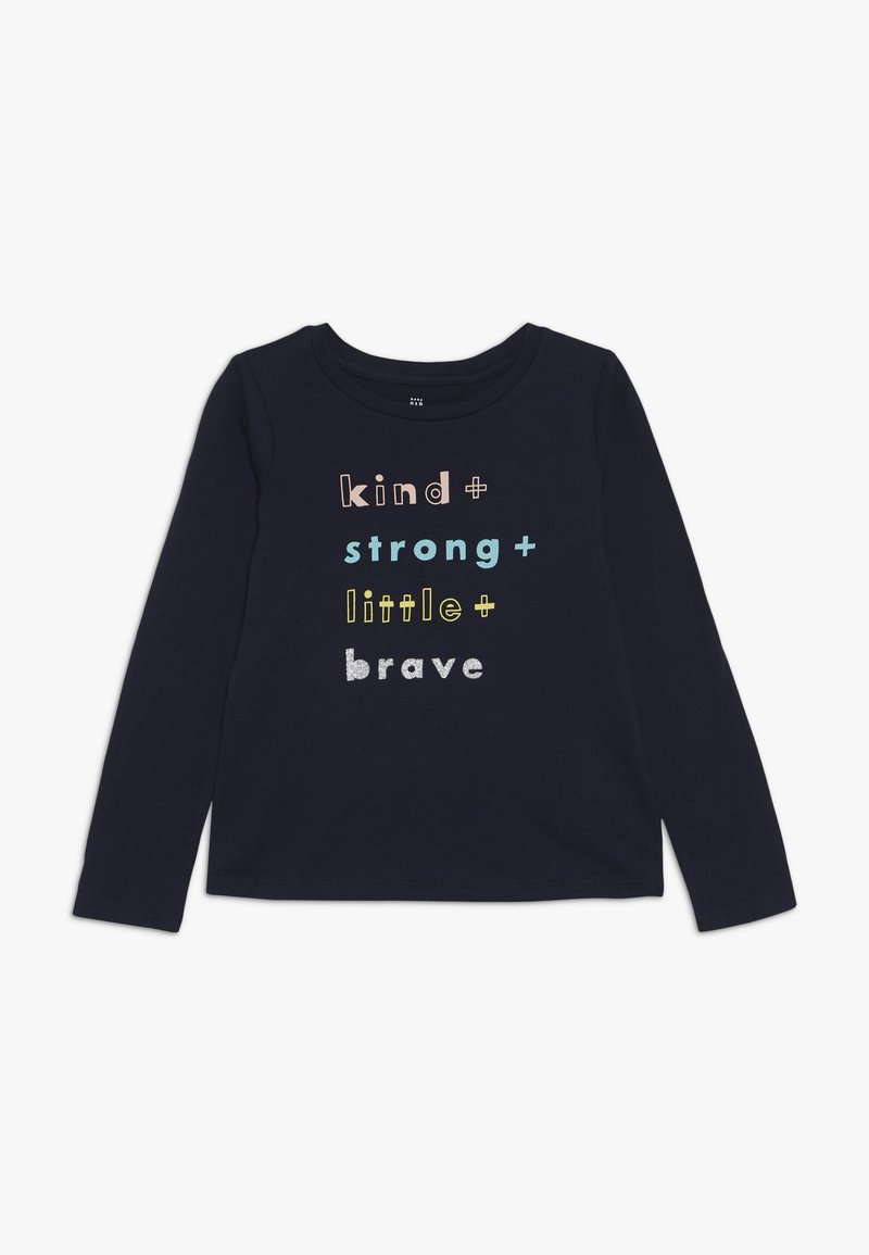 GAP - TODDLER GIRL  - T-shirt à manches longues - blue galaxy