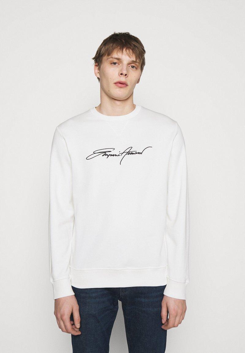 Emporio Armani - Sweatshirt - white