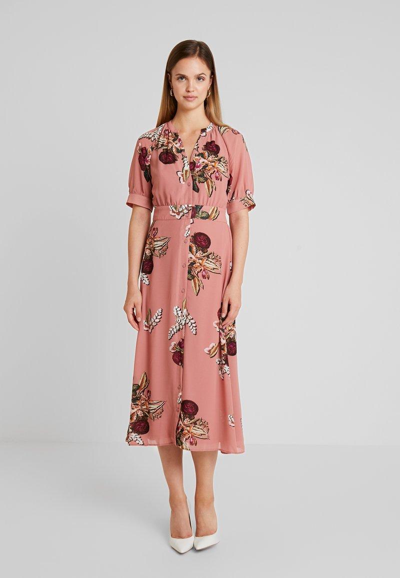 Vila - VISUNEMA NIALA MIDI DRESS  - Maxi dress - ash rose