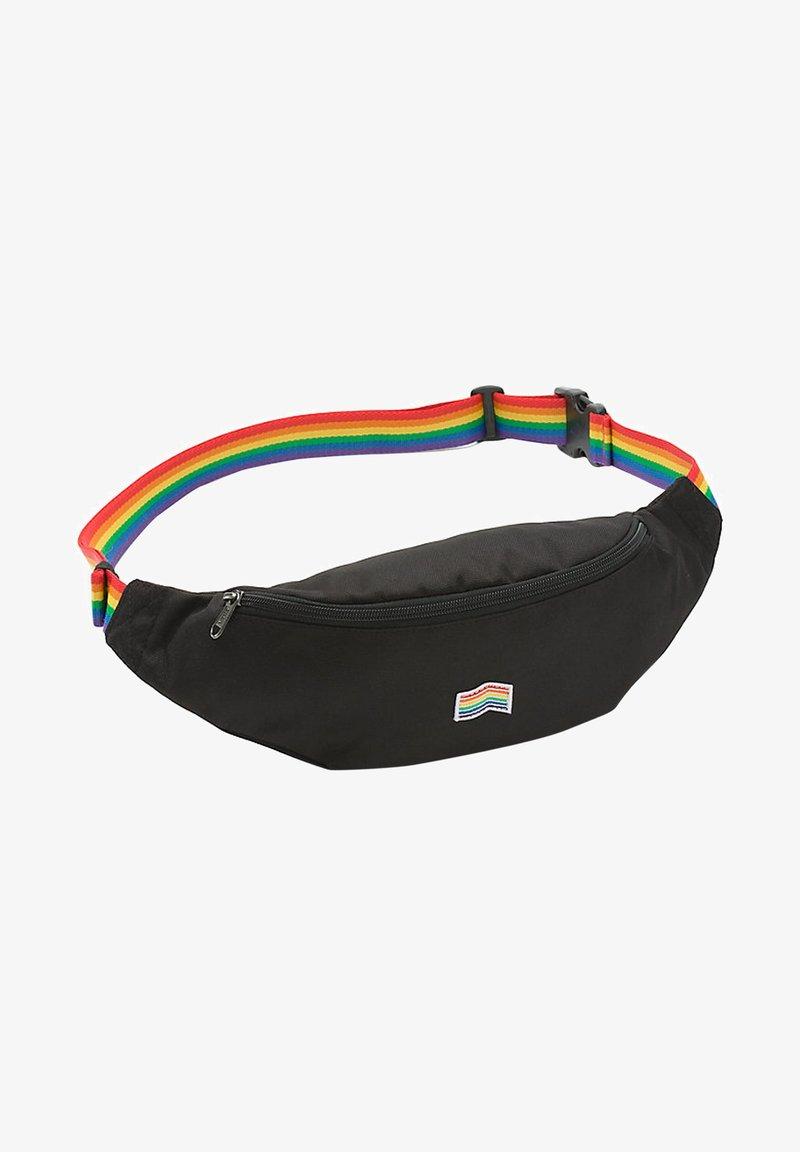 Vans - MINI WARD  - Bum bag - mottled black