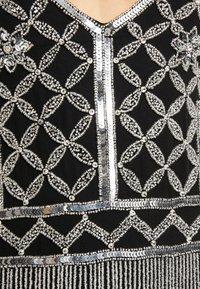 Missguided - EMBELLISHED FRINGED MINI DRESS - Koktejlové šaty/ šaty na párty - black - 7