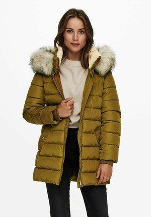 Winter coat - breen