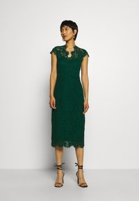 IVY & OAK - SHIFT DRESS MIDI - Cocktail dress / Party dress - eden green - 1