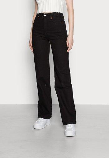 MOXY STRAIGHT - Jeans straight leg - solid black