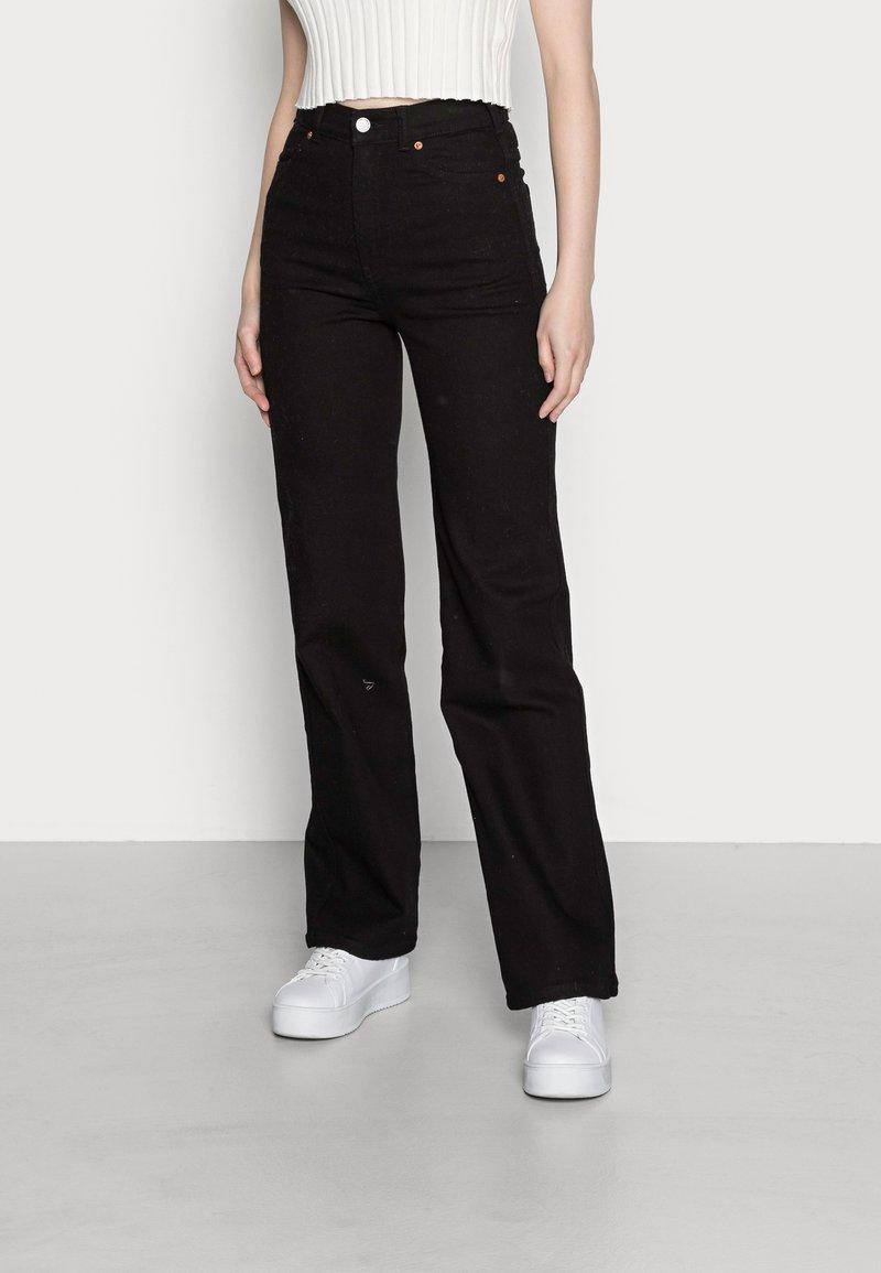 Dr.Denim - MOXY STRAIGHT - Straight leg jeans - solid black