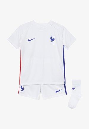 FRANKREICH FFF I NK BRT KIT AW SET - Klubové oblečení - white/concord