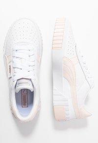 Puma - CALI - Baskets basses - white/rosewater - 3