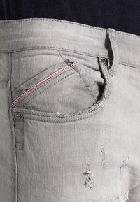 INDICODE JEANS - NARVIK - Slim fit jeans - light grey - 3