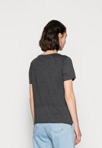 Mavi - CATS PRINTED TEE - Print T-shirt - phantom - 2