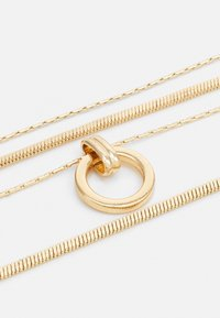 Topshop - RING DROP MUTLIROW - Necklace - gold-coloured - 2
