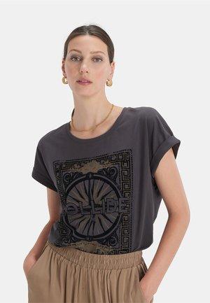 COLLIDE MIX - T-shirt print - grey