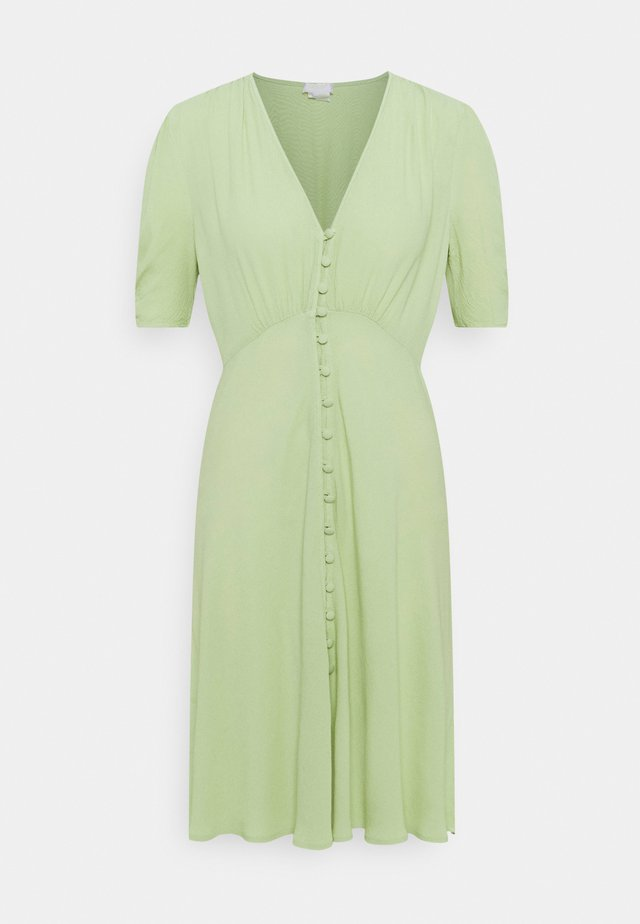 SABRINA DRESS - Korte jurk - miint green