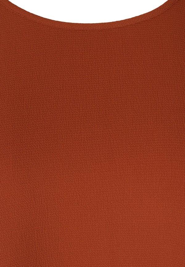 Zizzi Bluzka - orange/pomarańczowy GKJC