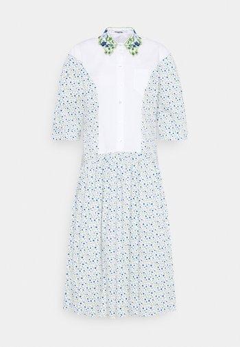 DRESS - Shirt dress - bianco