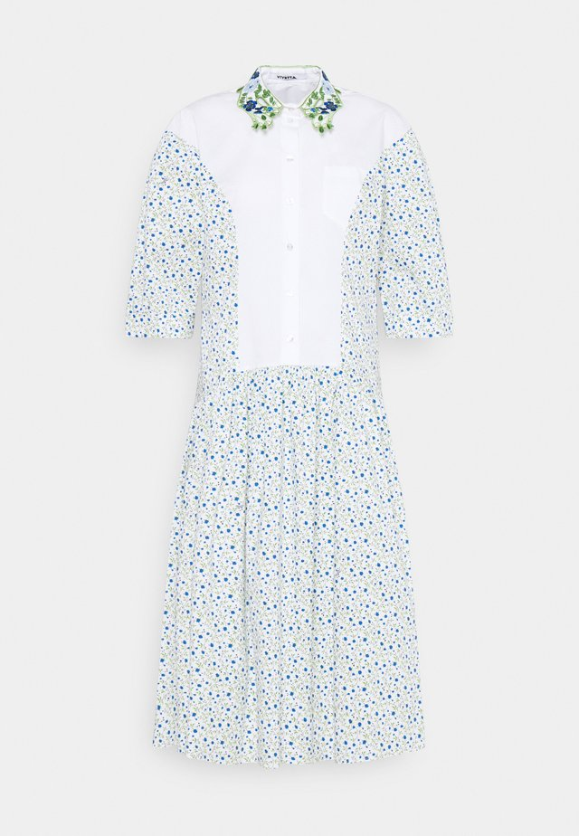 DRESS - Skjortekjole - bianco