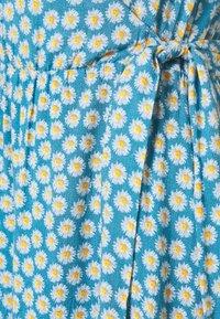 YAS - YASDAISY LONG DRESS - Maxi dress - blue heaven - 2