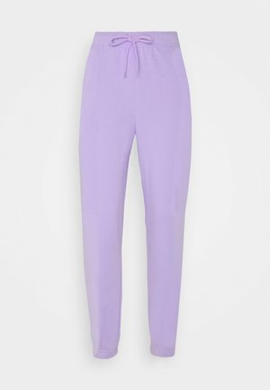 PCCHILLI PANTS - Tracksuit bottoms - purple heather