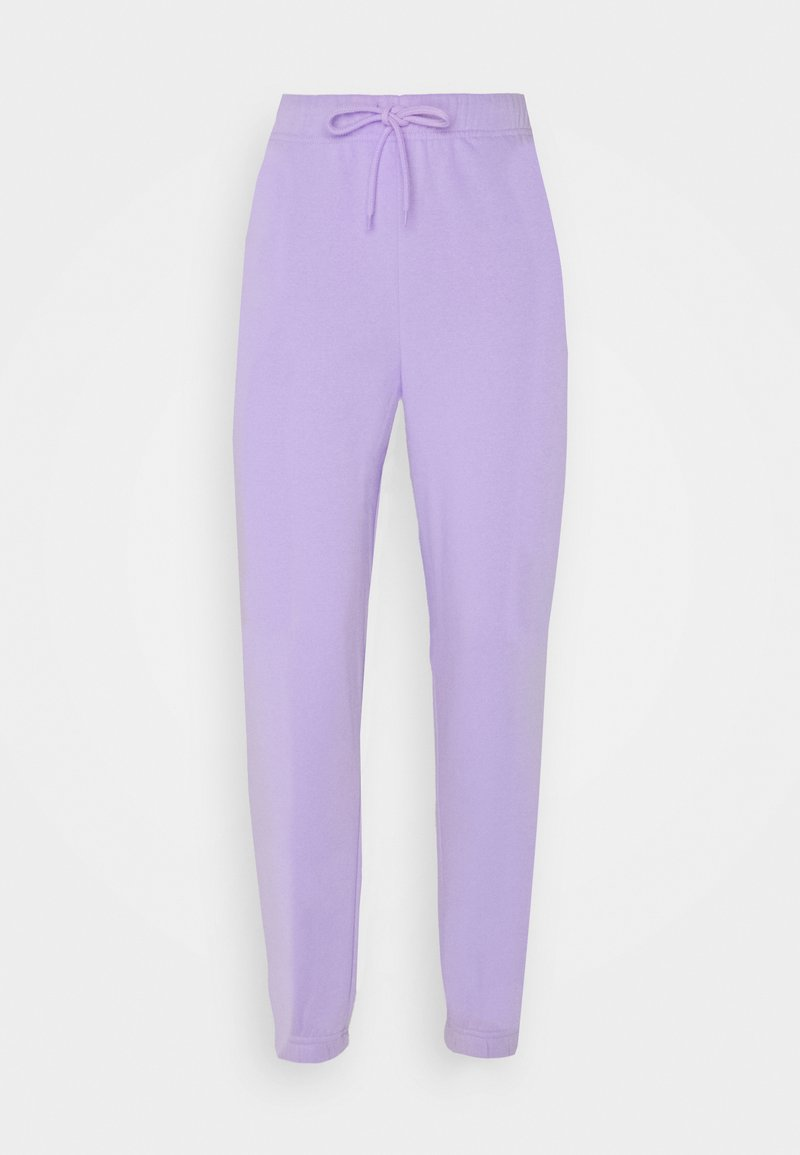 Pieces - PCCHILLI PANTS - Tracksuit bottoms - purple heather