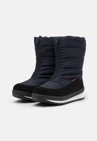 CMP - KIDS RAE WP UNISEX - Winter boots - black blue - 1