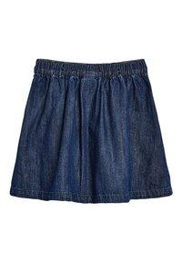 Next - A-line skirt - mottled blue - 1