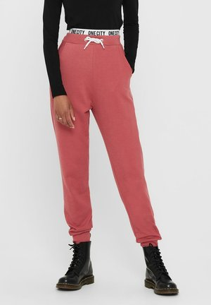 Tracksuit bottoms - mineral red