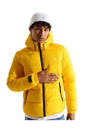 Winter jacket - nautical yellow