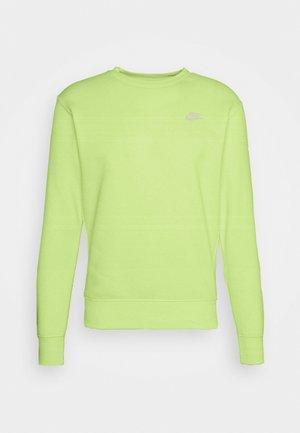Sweatshirt - liquid lime