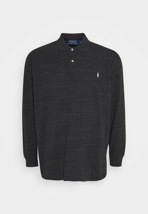 BASIC - Polo shirt - black marl heather