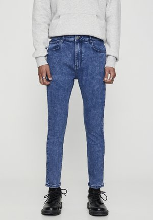BASIC-KAROTTENJEANS 05682500 - Slim fit jeans - light blue