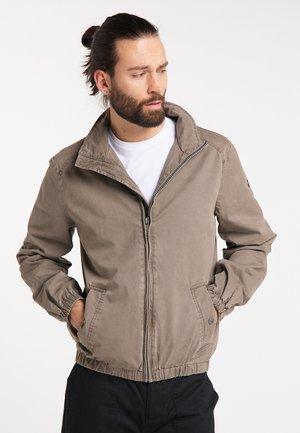 Outdoor jacket - light mud